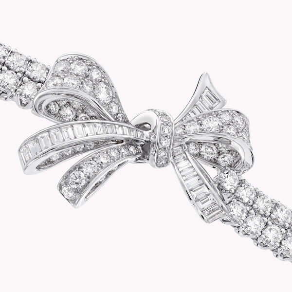 Tilda's Bow钻石双行手链, , hi-res