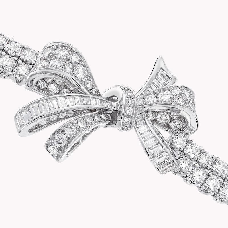 Tilda's Bow Classic Diamond Double Strand Bracelet, , hi-res