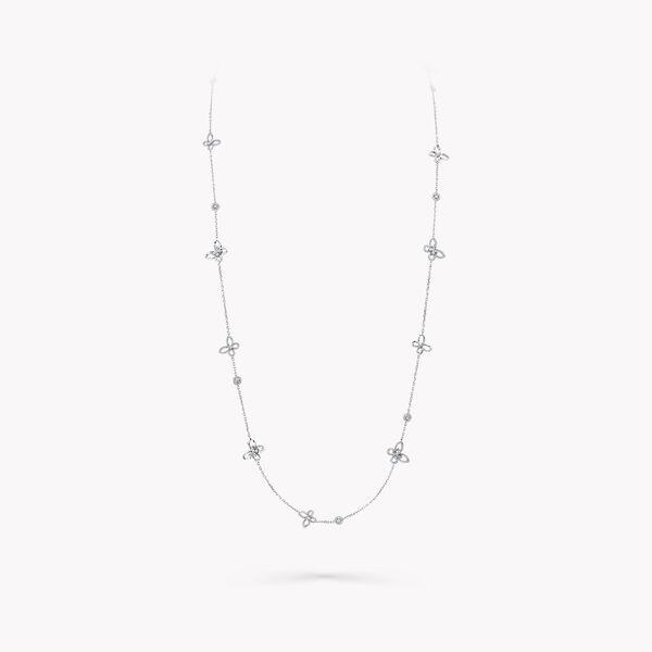 蝴蝶幻影钻石长项链, , hi-res