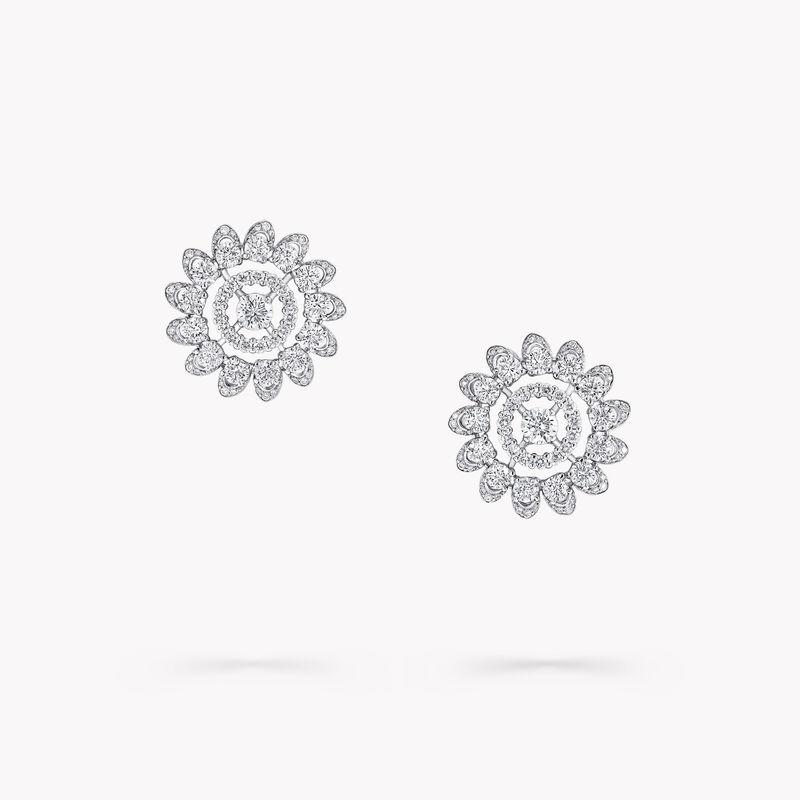 Graff Gateway Pavé Diamond Stud Earrings, , hi-res