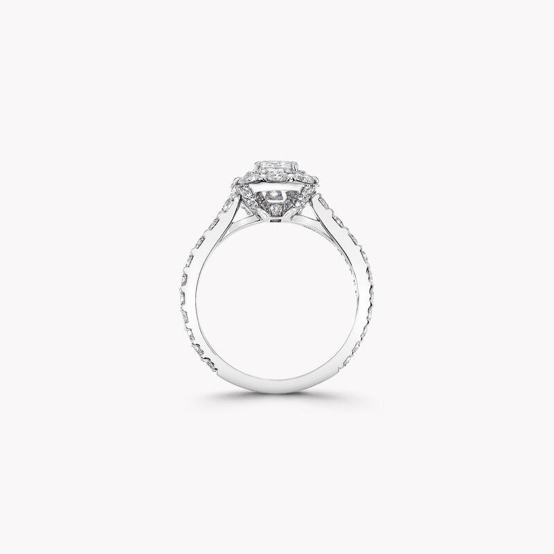 Icon祖母绿形切割钻石戒指, , hi-res