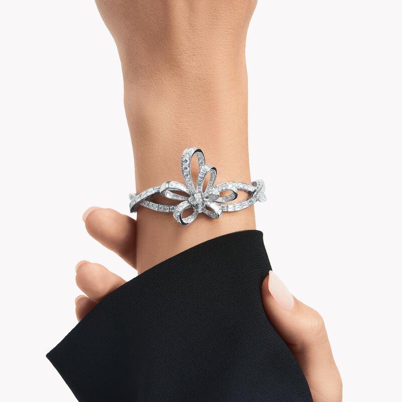 Tilda's Bow Diamond Bracelet, , hi-res